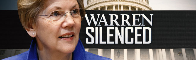 elizabeth-warren-silenced
